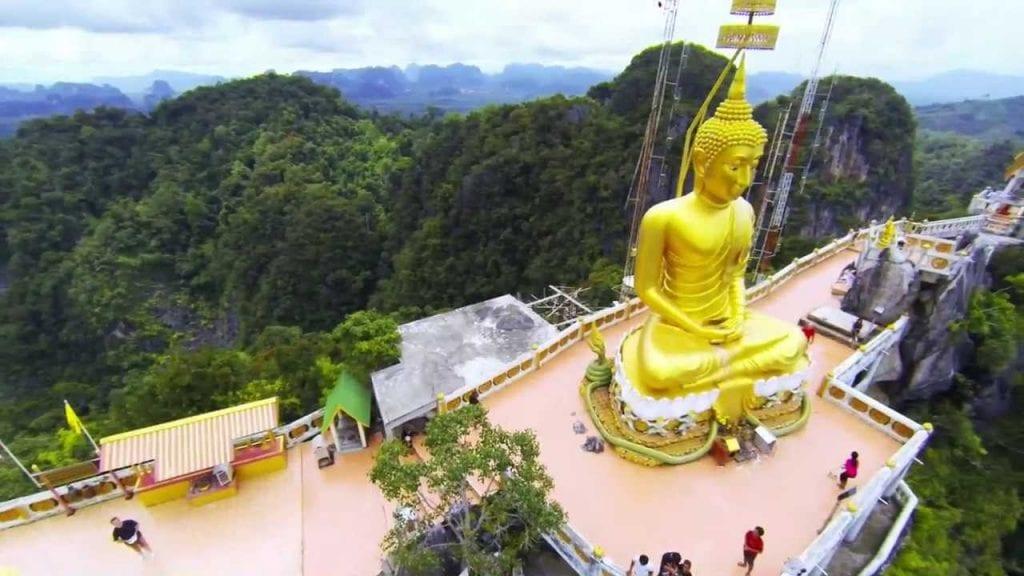 wat thaam seua thailand