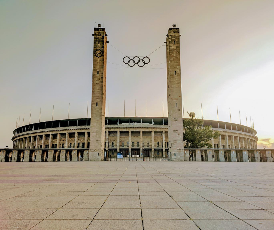 front-view-of-the-olympic-stadium